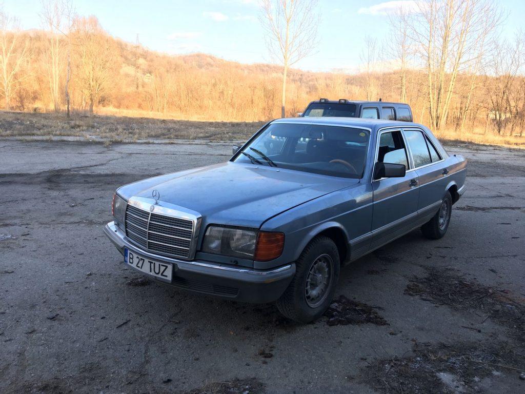 Masini de Epoca - Mercedes Benz S280